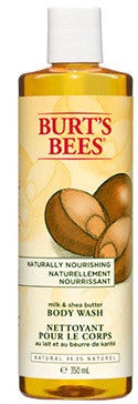 BURT'S BEE B/WASH MILK & SHEA BUTTER 350ML - Queensborough Community Pharmacy