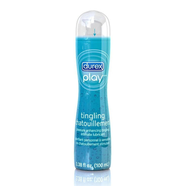 DUREX LUB PLAY TINGLING 100ML - Queensborough Community Pharmacy