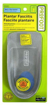 PROFOOT PLANTAR FASCITIES ORTHOPEDIC SUPPORT FOR MEN 1'S - Queensborough Community Pharmacy