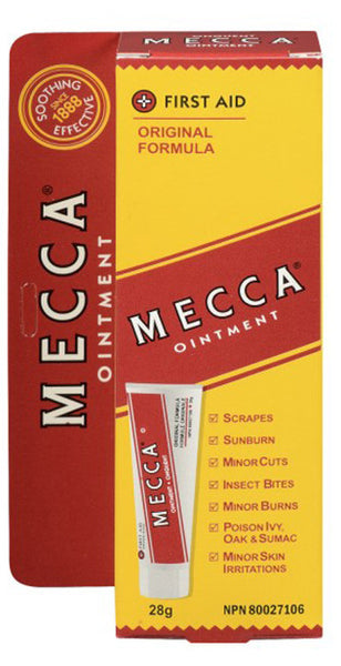 MECCA OINTMENT 28G TUBE 1'S - Queensborough Community Pharmacy