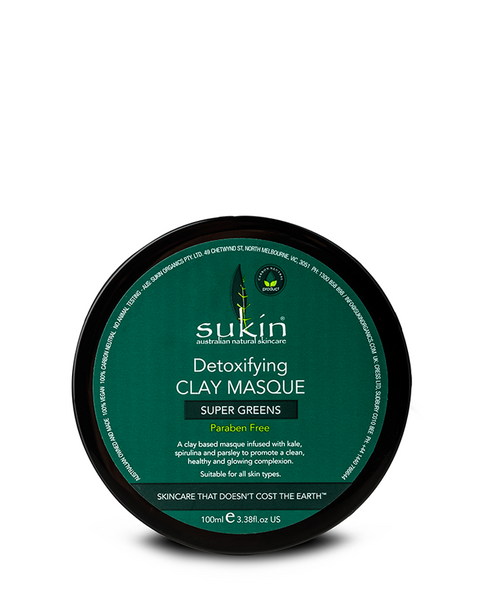 SUKIN DETOXIFYING CLAY MASQUE 100 ML - Queensborough Community Pharmacy - 1