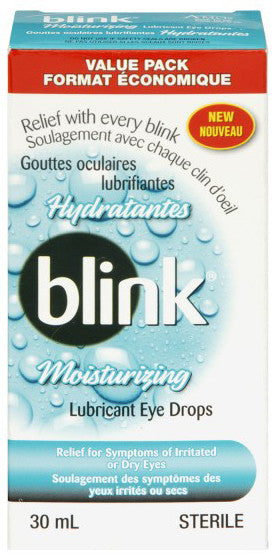 AMO BLINK MOISTRZ LUB EYE DROP 30ML - Queensborough Community Pharmacy