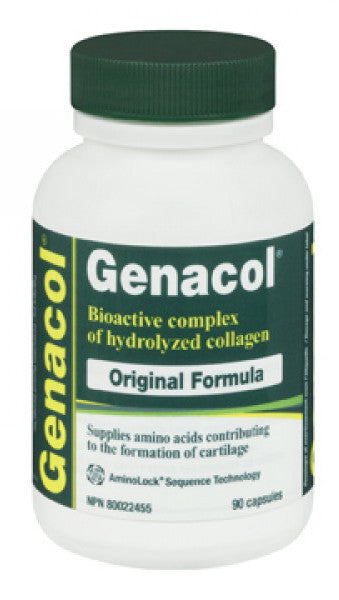 GENACOL ORIGINAL FORMULA CAPS 90'S - Queensborough Community Pharmacy
