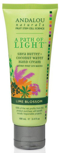 ANDALOU SHEA BUTTER LIME BLOSSOM HAND CREAM - Queensborough Community Pharmacy