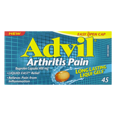 ADVIL ARTHRITIS 400MG 45'S - Queensborough Community Pharmacy