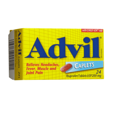 ADVIL CPLT 200MG 24'S - Queensborough Community Pharmacy