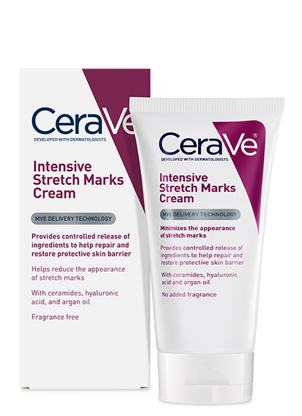CERAVE INTENSIVE STRETCH MARKS CREAM 144G - Queensborough Community Pharmacy