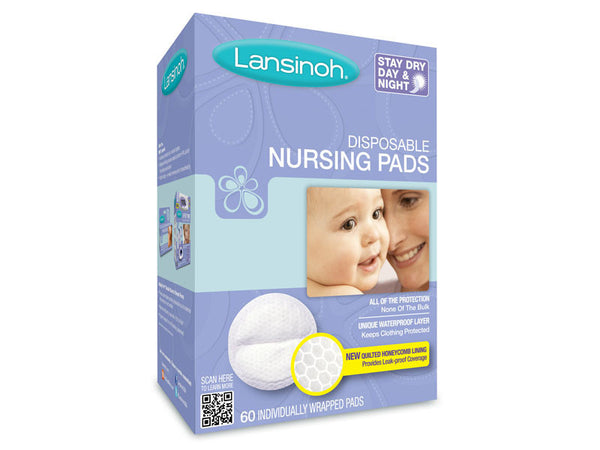 LANSINOH NURSING PAD DISPOSABLE 36'S - Queensborough Community Pharmacy