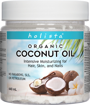 HOLISTA ORGANIC COCONUT OIL 440ML
