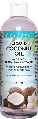 HOLISTA LIQUID COCONUT OIL 295ML