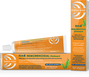 Thera Wise HmR Natural Bio-Active Hemorrhoidal Ointment 28g - Queensborough Community Pharmacy