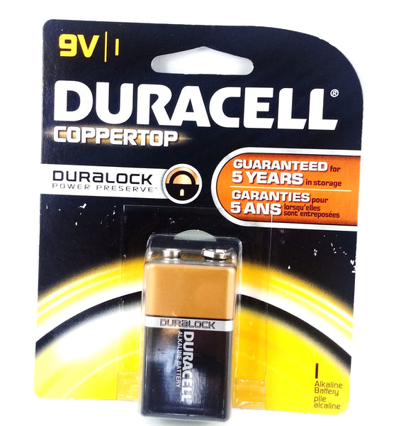 DURACELL 9VOLT BATTERY 1'S - Queensborough Community Pharmacy