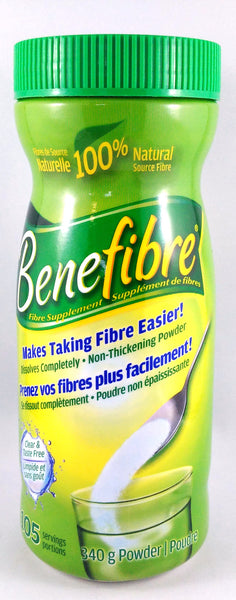 BENEFIBRE POWDER 105 SERVINGS 340G - Queensborough Community Pharmacy