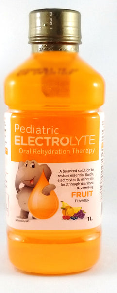 PEDIATRIC ELECTROLYTE-FRUIT 1L / 3.56 / 4.628 - Queensborough Community Pharmacy