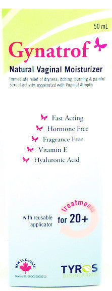 GYNATROF VAGINAL LUBRICANT GEL 50ML - Queensborough Community Pharmacy - 1