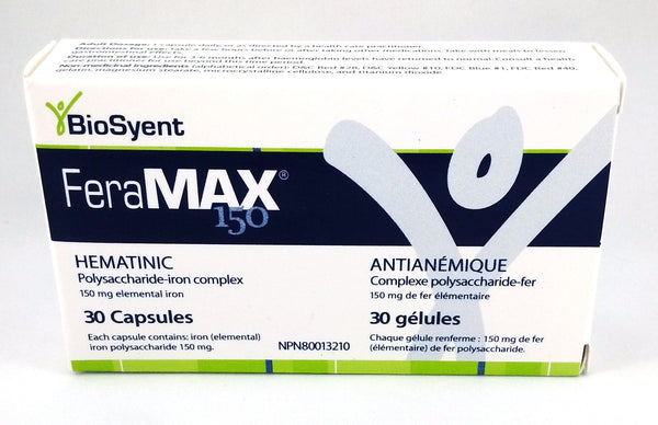 FERAMAX CAPS 150MG 30'S - Queensborough Community Pharmacy - 1