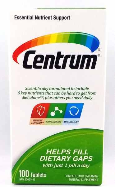 CENTRUM 100'S - Queensborough Community Pharmacy