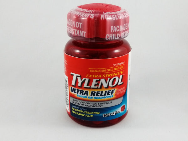 TYLENOL TABS ULTRA RELIEF EZO 120'S - Queensborough Community Pharmacy