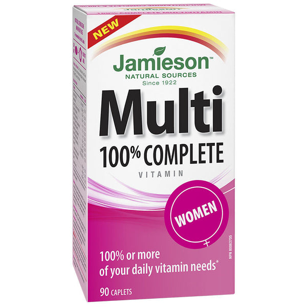 JAMIESON 100% COMP MULTI WOMEN TABLETS 90'S - Queensborough Community Pharmacy