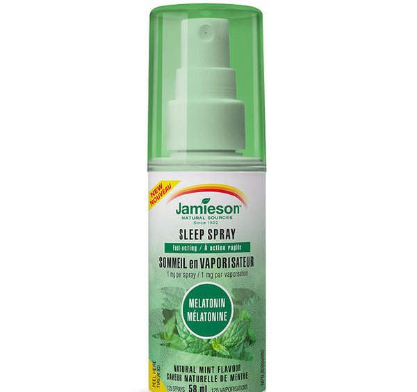JAMIESON MELATONIN SLEEP SPRAY 58ML - Queensborough Community Pharmacy