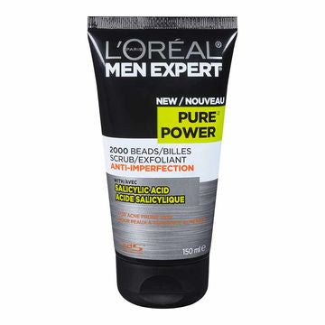 L'OREAL MEN EXP PURE PWR CLEANSER 150ML - Queensborough Community Pharmacy