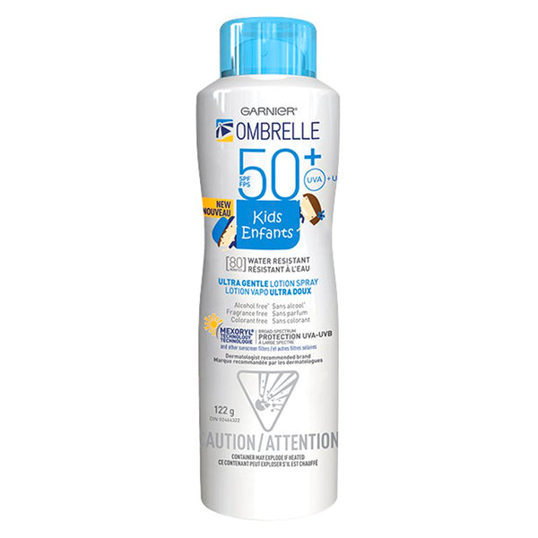 OMBRELLE KIDS ULTRA GENTLE SPF 50+ SPRAY 122G