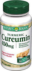 NATURE'S BOUNTY TUMERIC CURCUMIN 450MG CAPS 60'S - Queensborough Community Pharmacy