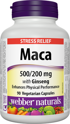 WEBBER MACA AND GINSENG CAPSULES 90'S - Queensborough Community Pharmacy