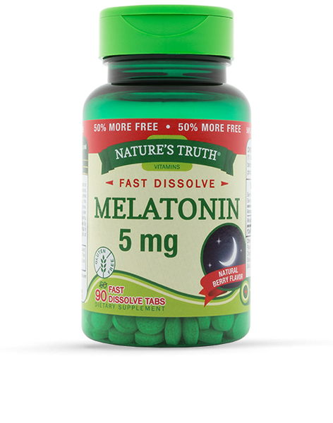 NATURE'S TRUTH MELATONIN 5MG TB 90