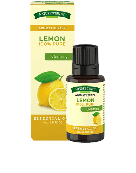 NATURES TRUTH ESSENTIAL OIL LEMON 15ML