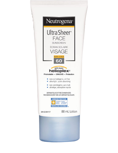 NEUTROGENA ULTRA SHEER FACE SUNSCREEN SPF60 88ML - Queensborough Community Pharmacy