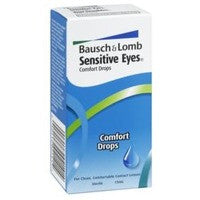 B & L SENS EYES MULT-PURP LENS DROPS 15ML - Queensborough Community Pharmacy