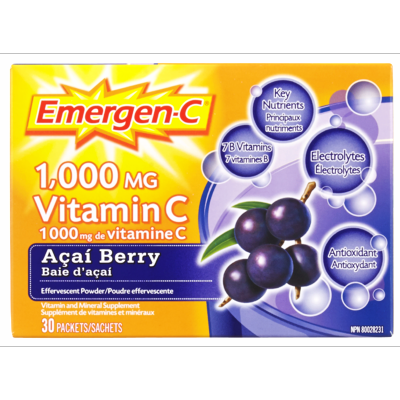 EMERGEN-C ACAI BERRY 30'S - Queensborough Community Pharmacy