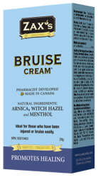 Zax's Original Bruise Cream28g - Queensborough Community Pharmacy