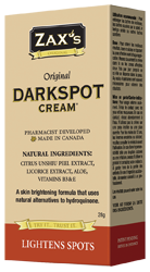Zax's Original Darkspot Cream 28g - Queensborough Community Pharmacy