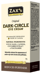 Zax's Dark Circle Cream 28g - Queensborough Community Pharmacy
