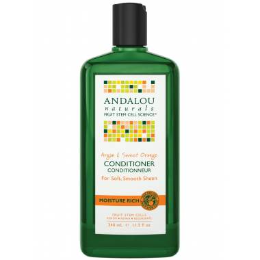 ANDALOU NATURALS ARGAN & SWEET ORANGE CONDITIONER 340 ML - Queensborough Community Pharmacy