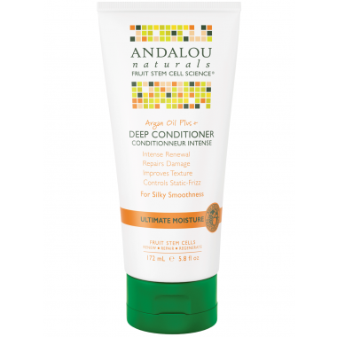 ANDALOU NATURALS ARGAN OIL PLUS DEEP CONDITIONER 172 ML - Queensborough Community Pharmacy
