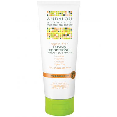 ANDALOU NATURALS ARGAN OIL PLUS LEAVE-IN CONDITIONER 200 ML - Queensborough Community Pharmacy