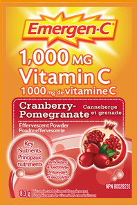 EMERGEN-C CRANBERRY POMEGRANATE 30'S - Queensborough Community Pharmacy