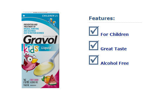 GRAVOL LIQUID CHILDREN 75ML - Queensborough Community Pharmacy