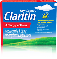 CLARITIN ALLERGY / SINUS 30'S - Queensborough Community Pharmacy