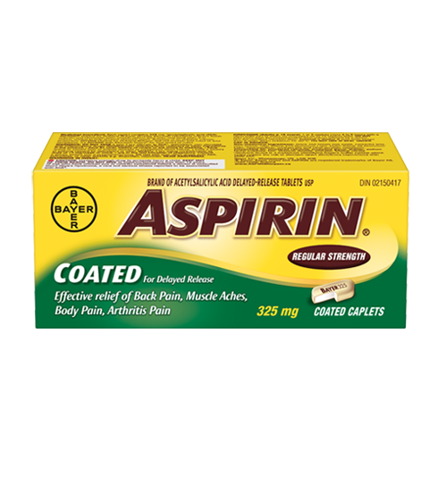 ASPIRIN COATED 100'S
