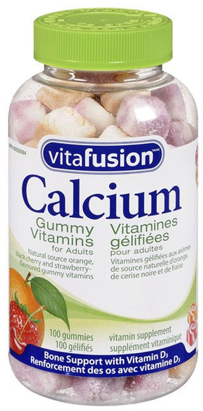 VITAFUSION CALCIUM GUMMY VITAMIN 100'S - Queensborough Community Pharmacy