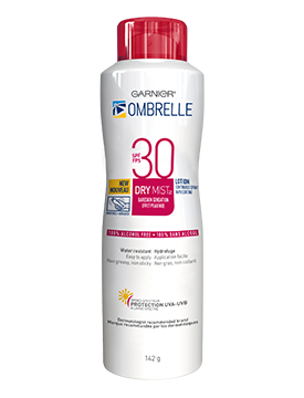 OMBRELLE COMPLETE DRY MIST SPF30 142G CONTINUOUS SPRAY 1'S - Queensborough Community Pharmacy