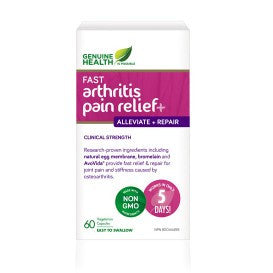 Fast Arthritis Relief+ 60 Caps - Queensborough Community Pharmacy