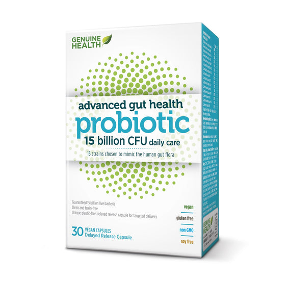 ADVANCED GUT HEALTH PROBIOTIC 15 BILLION CFU
