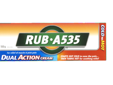 ANTIPHLOG RUB A535 DUAL ACTION CREAM 100G - Queensborough Community Pharmacy