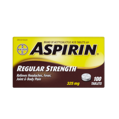 ASPIRIN COATED 200'S - Queensborough Community Pharmacy