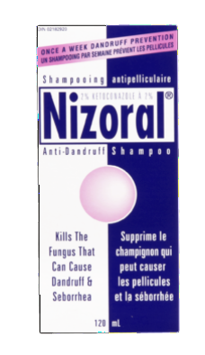NIZORAL SHAM 2% 120ML - Queensborough Community Pharmacy